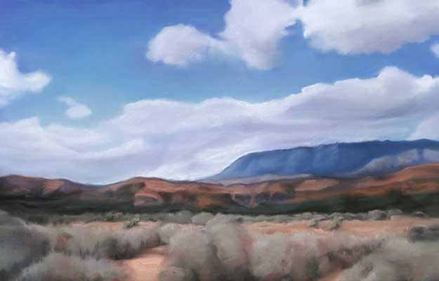 Fine Art Pastel ~ Sally Phillips ~ Northern Nevada